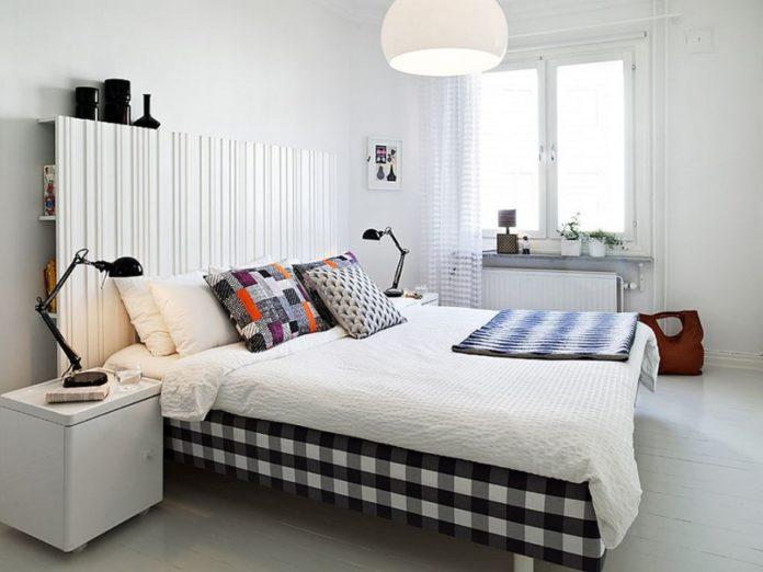 Czarny kolor w sypialni?