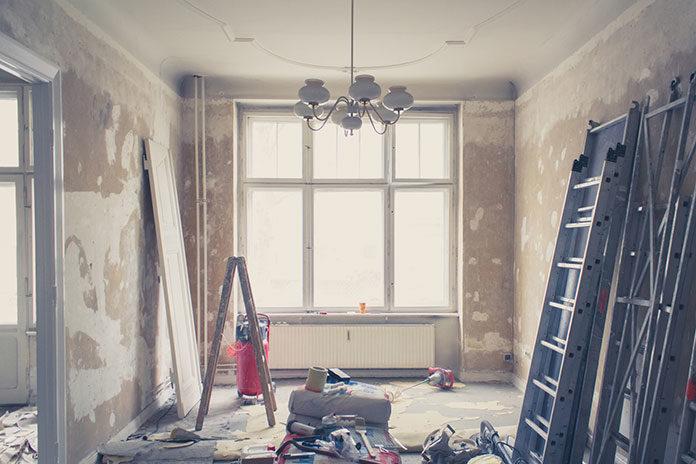 Gruntowny remont w domu