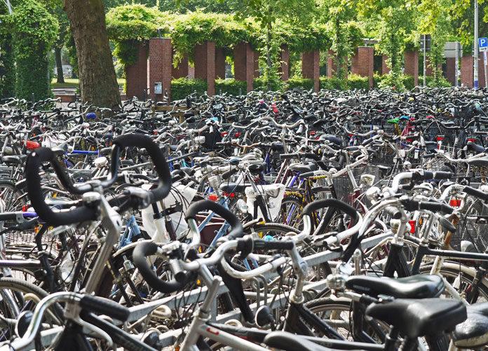 Stojak rowerowy do użytku prywatnego