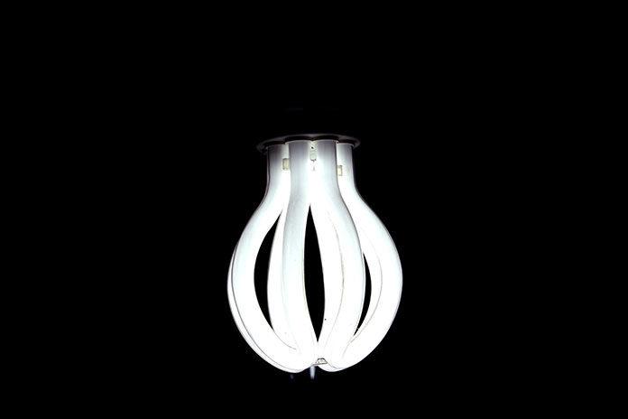 Lampki ledowe w nowoczesnym mieszkaniu