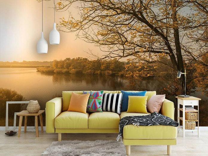 Tani sposób na ciekawą dekorację wnętrza – fototapety na ścianę