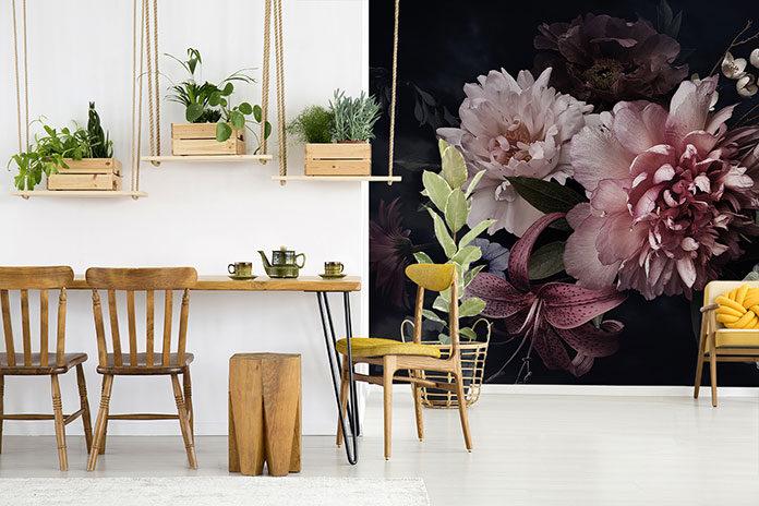 Poznaj najmodniejsze kwiatowe fototapety i odmień swoje mieszkanie