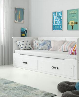 łóżko wysuwane podwójne
