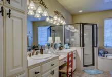 Kinkiety łazienkowe nad lustro