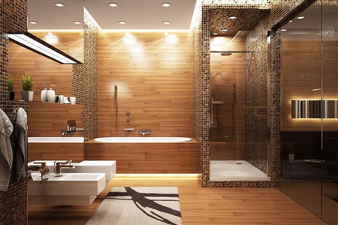 Prysznic z głębokim brodzikiem