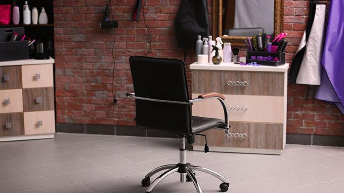 Fotel fryzjerski z masażem